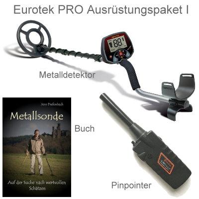 Metalldetektor Teknetics Eurotek PRO (LTE) Ausrüstungspaket