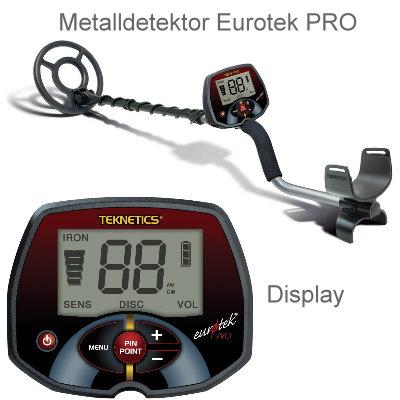 Teknetics Eurotek PRO (LTE) Profipaket (Metalldetektor